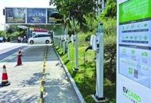 上海首个电动汽车光伏能源站落户杨浦