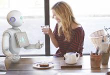 奥比中光人性化机器人崭露头角