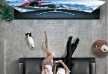 三星引领客厅进入75英寸级全视大屏时代