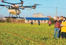 江西利用无人机种植技术惠及农业
