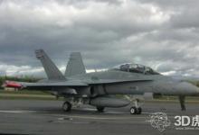 配备3D打印引擎部件的大黄蜂战斗机完成首飞