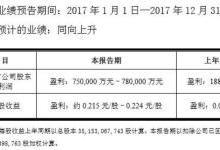 国产面板崛起!京东方盈利增长三倍达75 ~78亿元