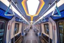 下一代地铁列车:采用LED照明未来感十足