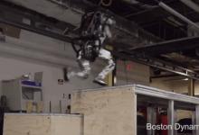 Boston Dynamics的人形机器人学会了跑酷