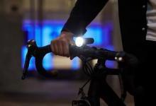 激光投影灯为夜间骑行保驾护航