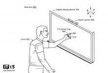 微软搞了一个智能指环专利