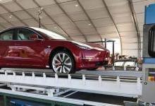 第10万辆特斯拉Model 3下线