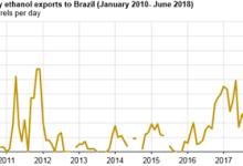巴西石油液体生产的季节性由生物燃料所驱动
