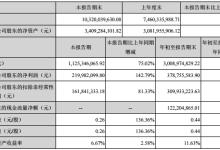 亿纬锂能前三季度净利同比增142.79%