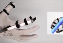 8克VR触觉手套,触觉由电力驱动