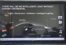 欧司朗大陆CEO:智能化车灯成趋势