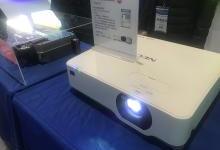 NEC CB系列激光教育机亮相教育装备展
