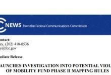 FCC疑运营商网络覆盖信息造假