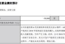 维信诺再获政府补助 有望利好2018年业绩