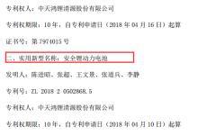 天赐材料控股子公司获4件实用新型专利证书
