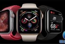 苹果手表4立功 智能手表用户数量增加