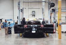 FF新下线两台FF91预量产车