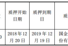 太龙照明股东苏芳质押320万股