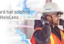 Trimble展示全新HoloLens安全帽