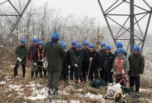 江西主电网首条灾后抢修线路500千伏石洪线恢复运行
