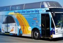 阳光车道运输公司投放零排放客车