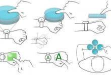 华为手表新专利:手背可当触控屏