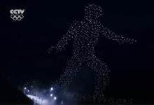 韩国冬奥会无人机队形变化是怎么做到的?