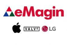 苹果、Valve和LG共同投资Micro OLED制造商eMagin