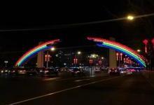 新彩虹门LED光源有何特别之处?