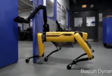 波士顿动力最新成果:机器狗能开门