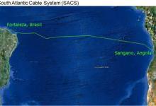 非洲-南美洲海底光缆系统SACS登陆巴西