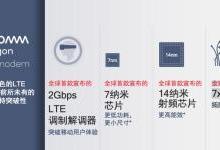高通推全球首款2 Gbps LTE调制解调器