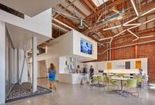 当旧仓库改造成清洁技术孵化中心 全世界都惊艳了