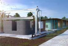 低于10万美元的建筑3D打印机Vulcan