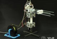 """具有无限Z轴的""""攀爬""""3D打印机"""