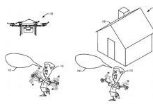 亚马逊申请快递交付无人机新专利