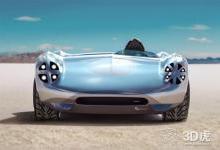 Hackrod提供定制3D打印汽车