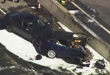 特斯拉发布Model X撞车事故申明