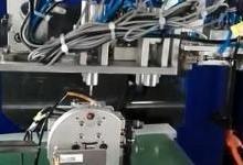 五轴伺服机械手模内埋针自动化解决方案