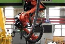 三维曲面弯板加工机器人系统