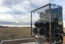 可探测气体泄漏的中红外双频梳激光光谱仪
