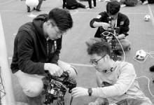 沈阳城市学院机器人世界杯中国赛夺冠