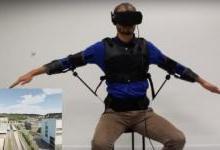 让用户使用身体控制一个无人机