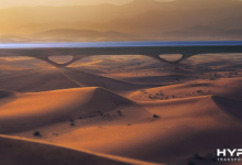 Hyperloop TT计划在阿布扎比修建超级高铁