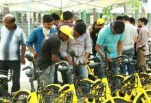 ofo占领印度共享单车市场 单量破百万