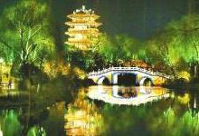 """""""一湖一环""""景观照明引发市民新期待"""