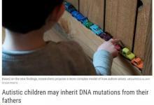非编码区基因突变 也会导致自闭症