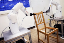 南洋理工组装机器人:可帮用户装椅子