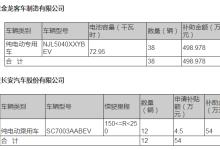 北京公示首批新能源车补贴名单