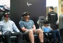 三星Galaxy高端体验馆开幕:VR是大亮点